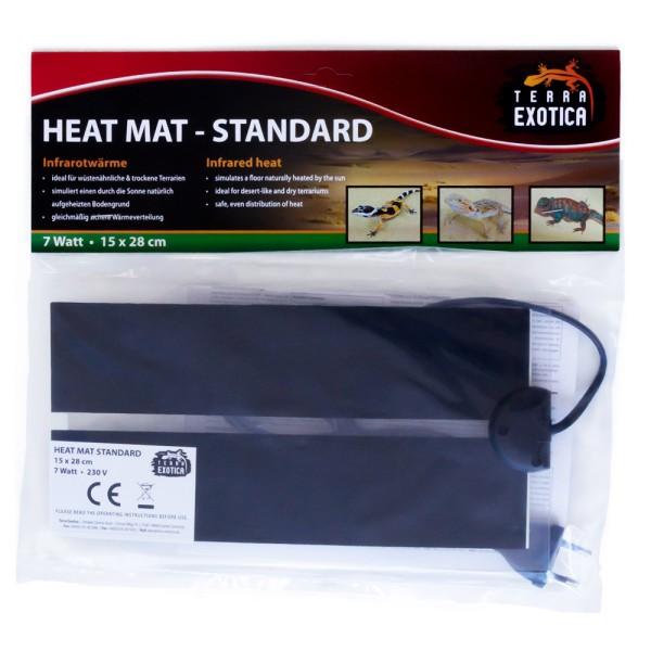 Heizmatte - Standard 7 Watt - 15 x 28 cm
