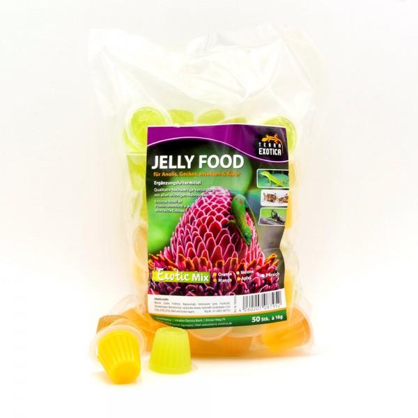 Jelly Food - Exotic-Mix 50 Stück à je 16 g im Beutel