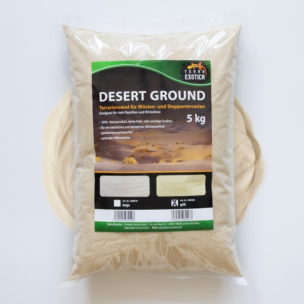 Desert Ground - gelb 5 kg Terrariensand