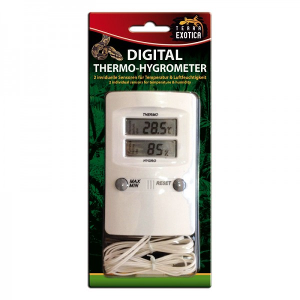 Digital Thermo-/ Hygrometer mit 2 Fühlern