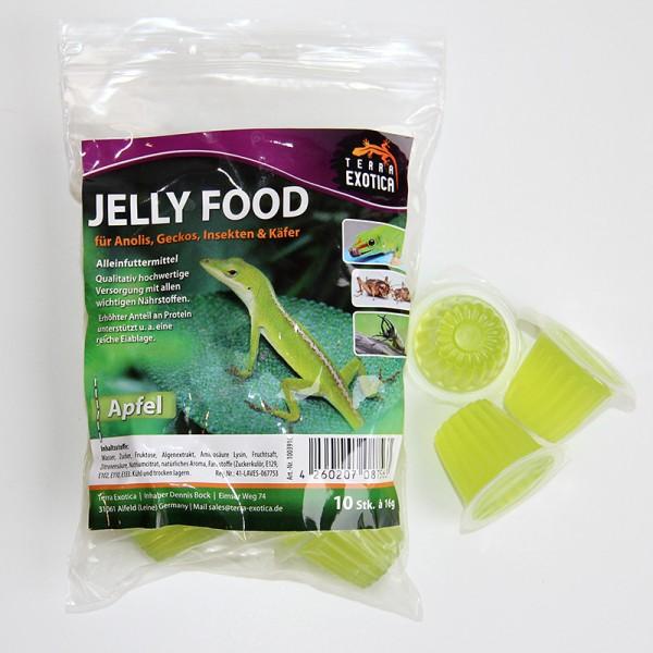 Jelly Food - Apfel 10 Stück à je 16 g im Beutel