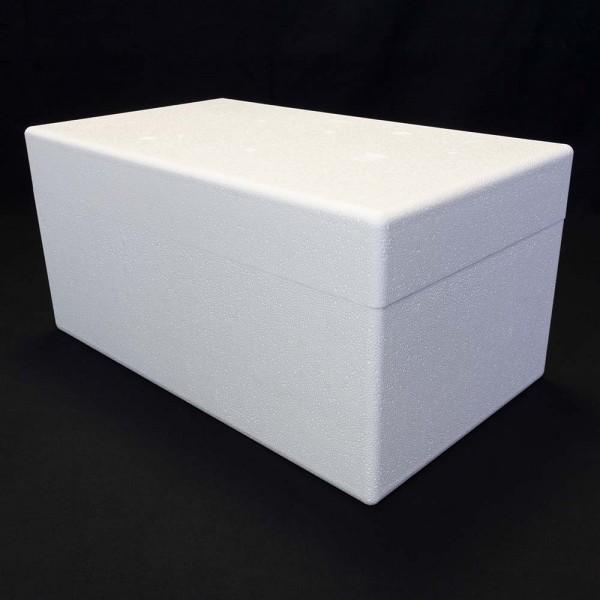 Styroporbox - 26,0 Liter - 550 x 320 x 270 mm