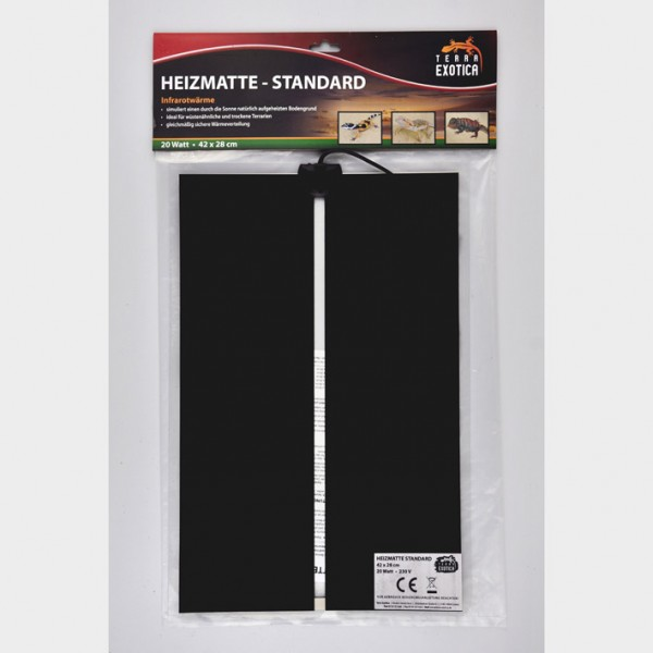 Heizmatte - Standard 20 Watt - 42 x 28 cm
