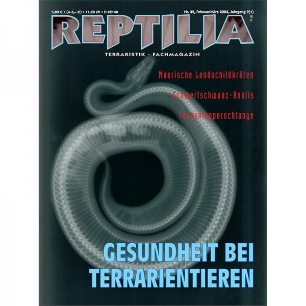 Reptilia 45 - Gesundheit bei Terrarient.