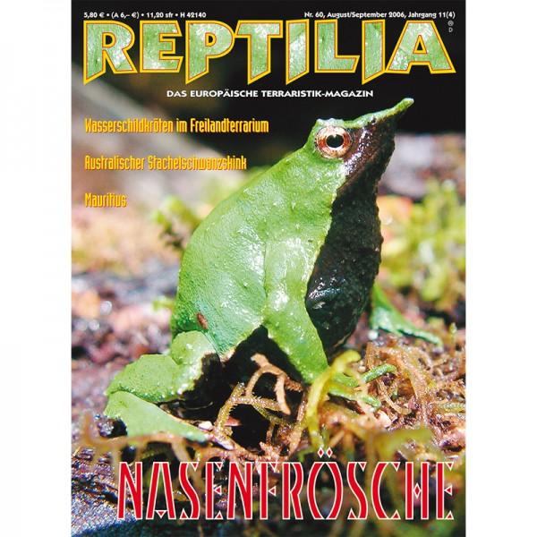 Reptilia 60 - Nasenfrösche